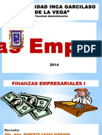 I Capitulo Papel Fin. y Adm. Fin. 2014