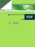 Cliente VPN IPSec TheGreenBow - Datasheet