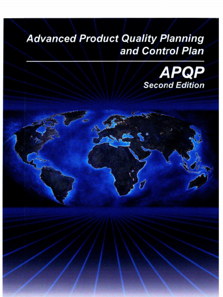 Aiag Advanced Product Quality Planning Apqp 2nd