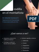 13 Dolor de Rodilla en El Montañista