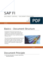 SAP Document Structure
