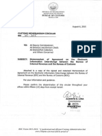 BIR_BOC Agreement on Electronic Data