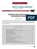 The Private Funds Report
