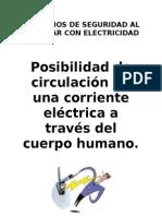 Manual Del Curso Principios de Seg.al Trabajar Con Electrici