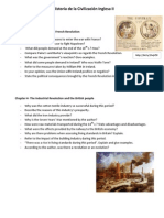 Questions Chapters 3 and 4- English History II