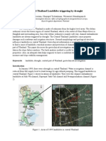 Paper for GEOSEA 2012 (Central Thailand Landslides Caused by Drought)