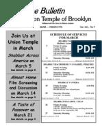 UT Bulletin March 2010[1]