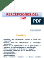 Percepciones IGV