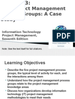 Chapter 3 the Project Management Process Groups a Case Study