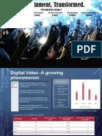 Digital Transformation of Entertainment