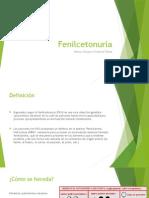 Fenilcetonuria ppt