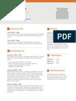 Plantilla Curriculum Vitae Completar 10