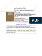 Trainning Design journal