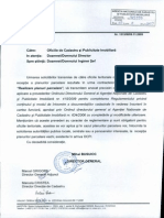 Adresa ANCPI 1513_09.11.2009 Realizare planuri parcelare + anexe