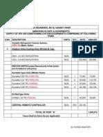 Order Format Format
