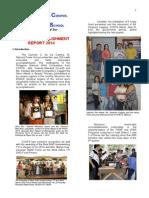 CCNTS Annual Accomplishment Report 2014
