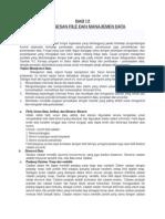 12.Pemrosesan File Dan Manajemen Data