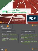 Top 4 Financial Goals , Everyone Should Plan
