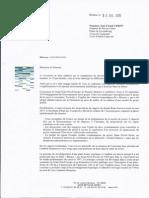 Réponse de Marc PAPINUTTI - Président de VNF