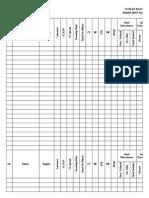 Cecklist Kelengkapan File SDM