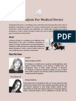 Value Analysis for Medical Device