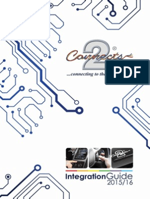 Connects2 Integration Guide 2015 | Chevrolet | Electrical ... on