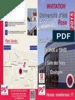 2 Invitation, 1ère Page, Extérieur Du Dépliant