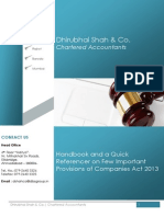 Commentary on Companies Act 2013