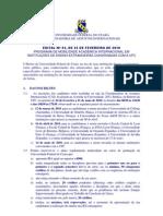 Universidade Federal Do CearÁ Coordenadoria de Assuntos