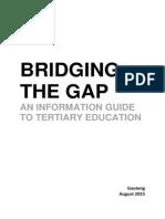 Bridging the Gap (Gauteng, August 2015)