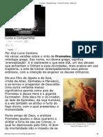 Prometeu - Mitologia Grega - O Mito de Prometeu - InfoEscola