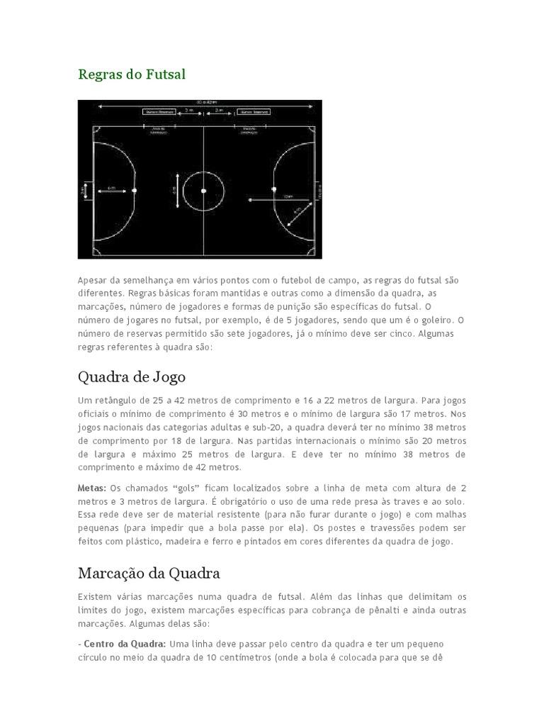 Regras Do Futsal f481d414ecbbd
