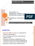 Lecture 14 15 Ammonia