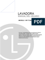 Manual Del Usuario Lavadora WF T1364TP