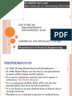 Lecture 21 Phosphorous