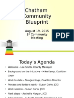 Chatham Community Blueprint Presentation