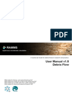 RAMMS Debris Flow Modelling Manual