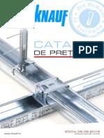 Catalog de Preturi Knauf - Editia 09.06.2015
