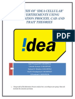 An Analysis of the Consumer Buying Behavior - Idea Cellular - Group