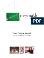 EzyMathTutoring - Training Manual