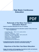 Nine Year Basic Continuous Education