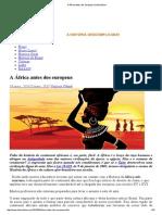 A África Antes Dos Europeus _ HistóriaZine