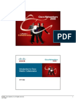 VVT-1002 Introduction to Cisco WebEx Collaboration
