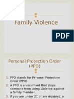 Family Violence Quiz 2015 Revised