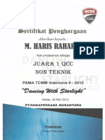 Certificate Quality Circle NT 2012