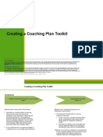 Creating a Coaching Plan. Manager Guide