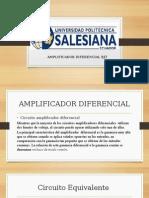 Amplificador Diferencial BJT Completo