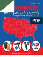 Nationwide Beauty & Barber Supply Feb. 2010 Catalog