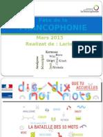 Fête de La Francophonie