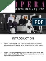Opera Clothing Project